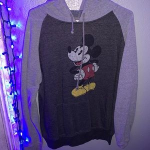 Men's Mickey Mouse pullover